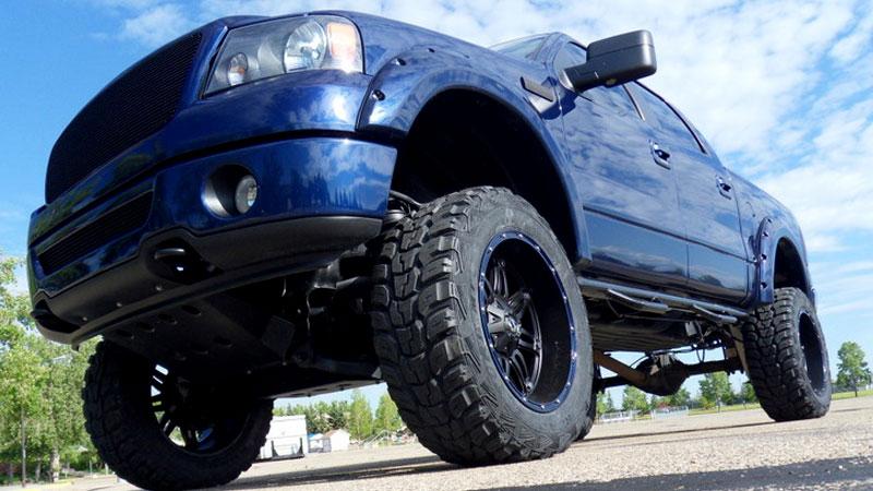 Ford F 150 Hostage D530 Gallery Mht Wheels Inc