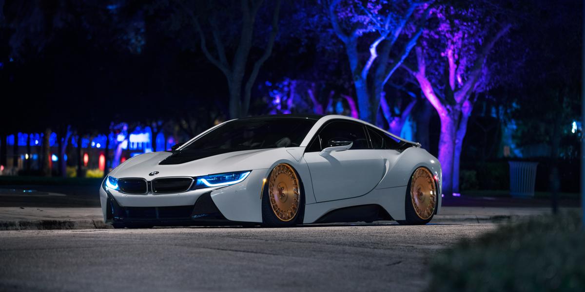 Rose Gold Bmw I8 >> BMW I8 CBU Gallery - MHT Wheels Inc.