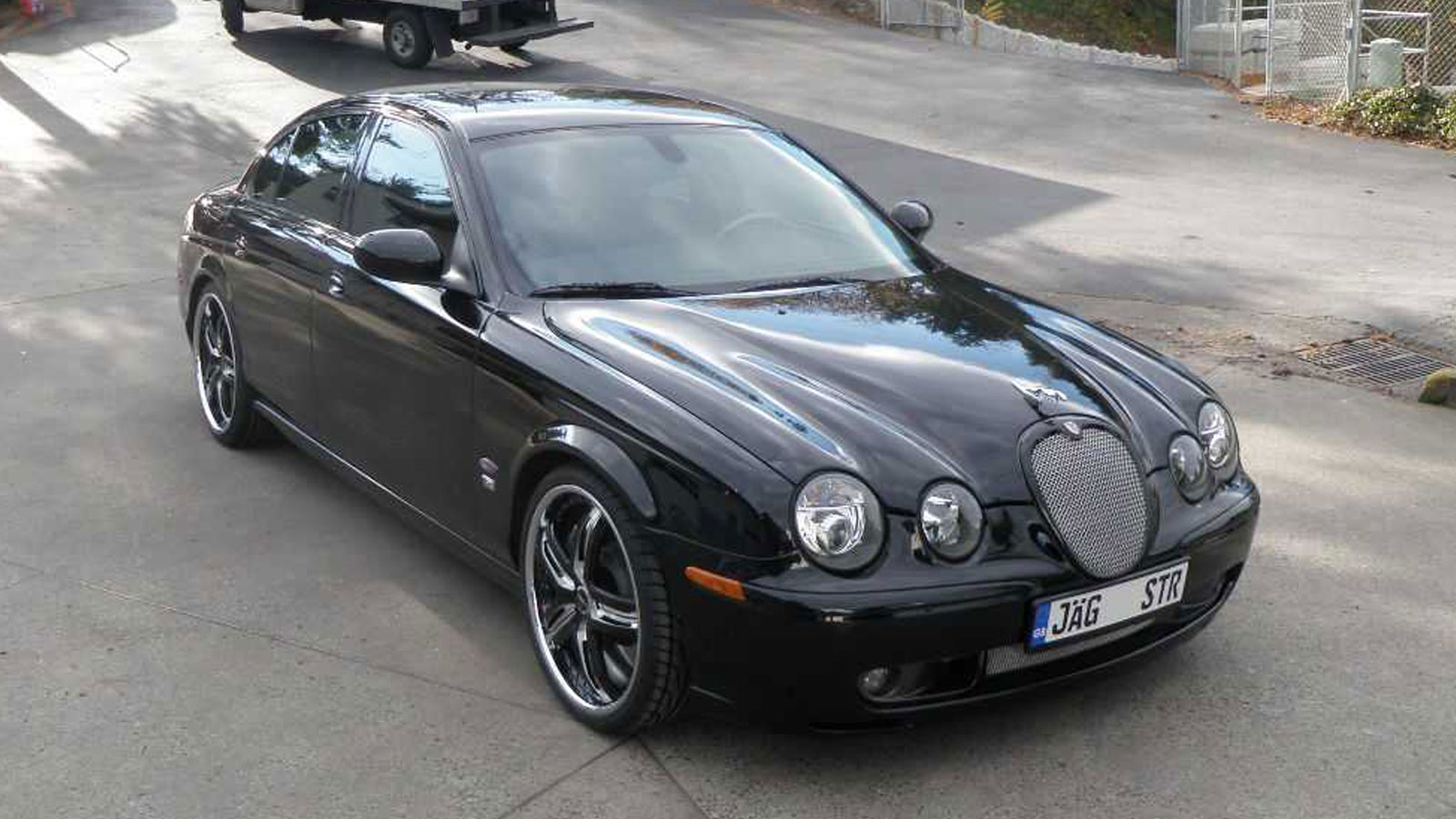 Jaguar S-Type R illusion Gallery - MHT Wheels Inc.