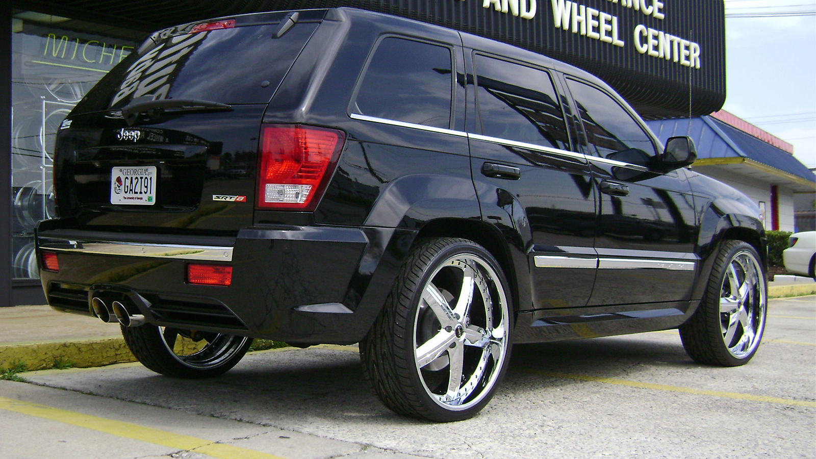 jeep srt8 montage gallery - mht wheels inc.