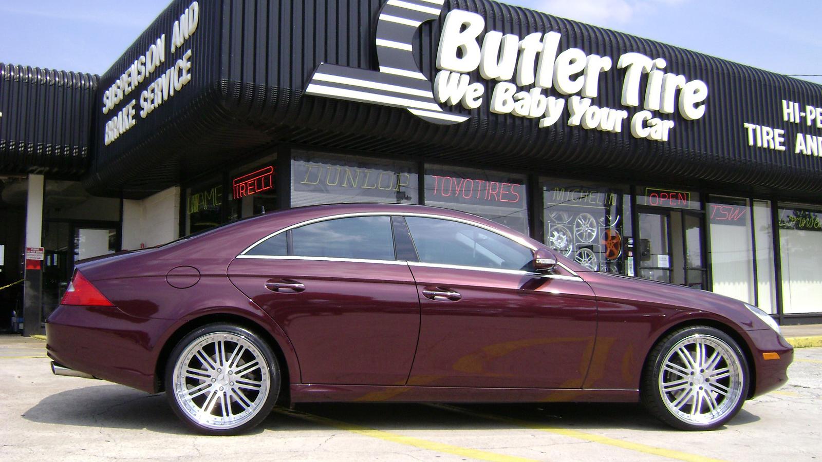Mercedes Benz Cls500 Apex Gallery Mht Wheels Inc Cls 500 2006