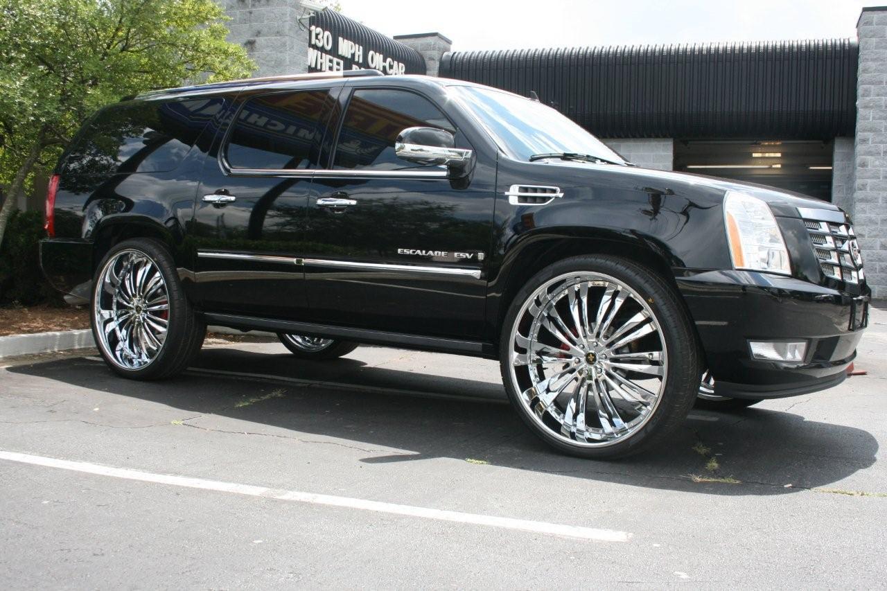 Cadillac Escalade Vienna Gallery - MHT Wheels Inc.