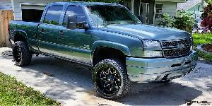 Lethal - D567 on Chevrolet Silverado 2500 HD