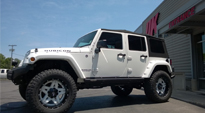 Full Blown - D255 on Jeep Wrangler