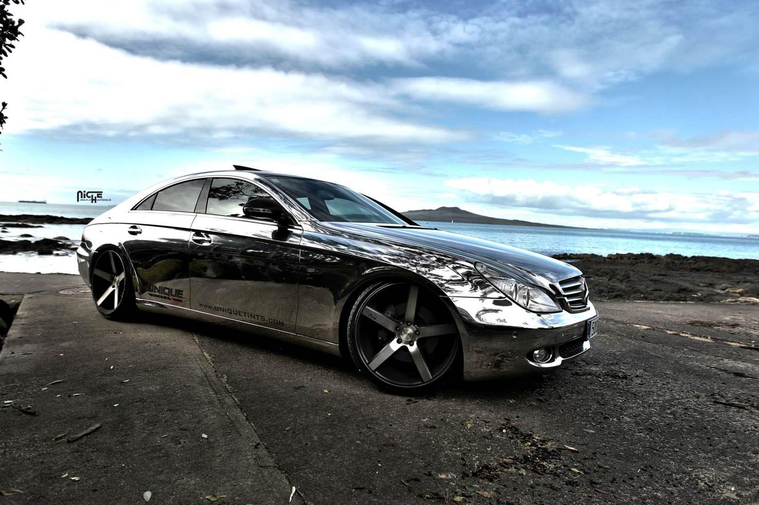 Mercedes benz cls500 milan m134 gallery mht wheels inc for Mercedes benz black wheels