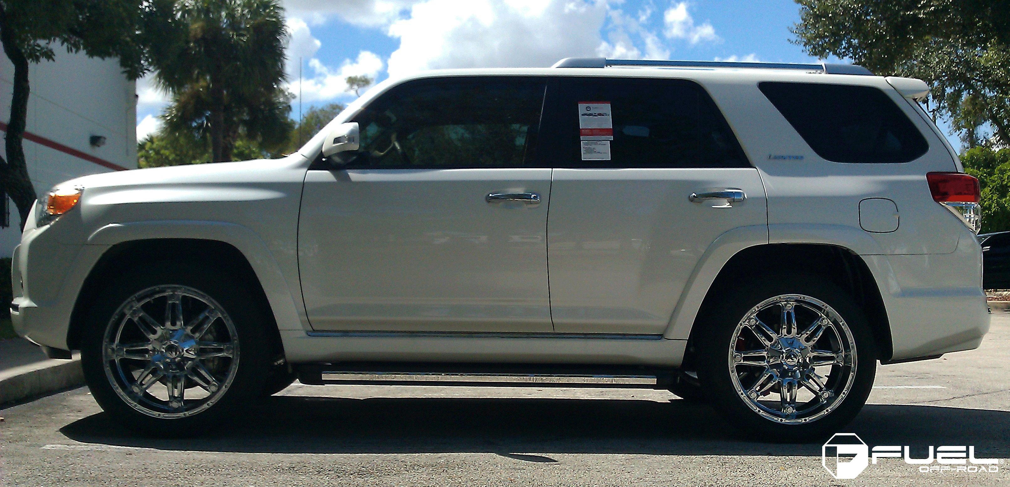 Toyota 4runner Hostage D530 Gallery Mht Wheels Inc