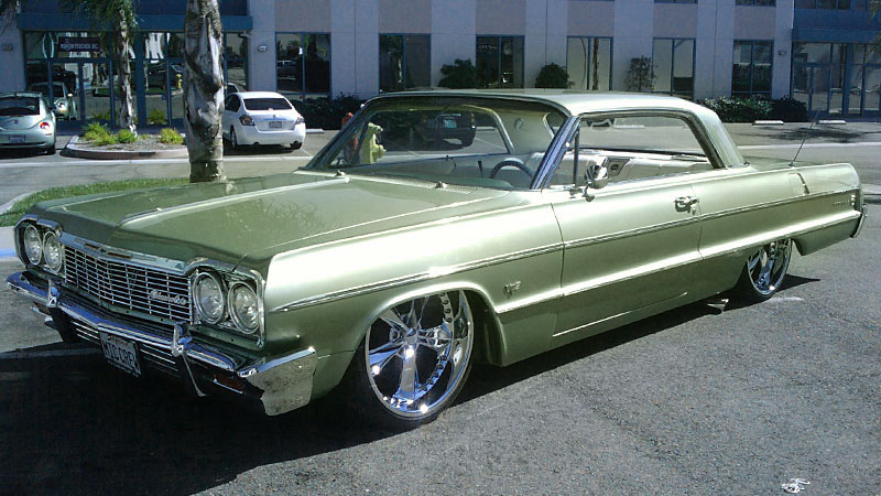Lowrider Rims And Tires >> Chevrolet Impala Nitrous SE - F302 Gallery - MHT Wheels Inc.