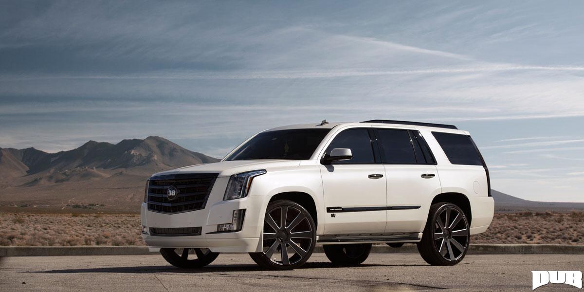 Cadillac Escalade 8-Ball - S187 Gallery - MHT Wheels Inc.