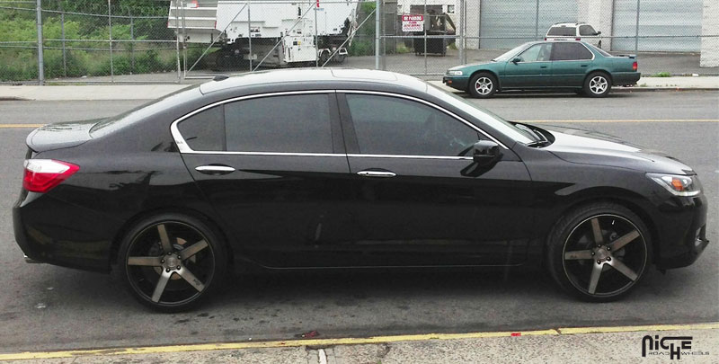 2008 Honda Accord Tires Honda Accord Milan - M134 Gallery - MHT Wheels Inc.