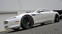 Stance on Aston Martin Rapide