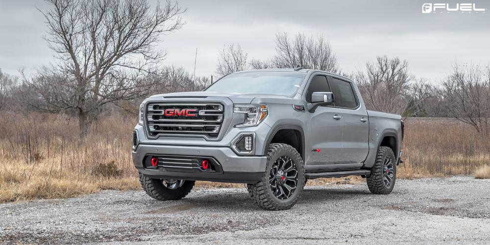 GMC Sierra Fuel Assault - D576