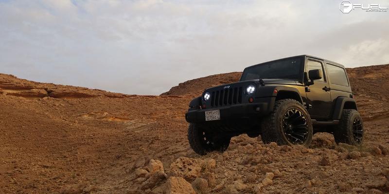 Jeep Wrangler Assault - D546
