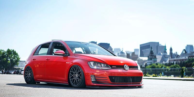 Volkswagen GTI Rotiform BLQ - Cast 1 Piece