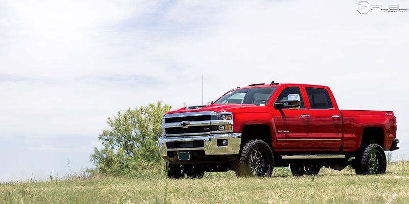 Chevrolet Silverado 2500 HD Fuel Flow 8 - D587