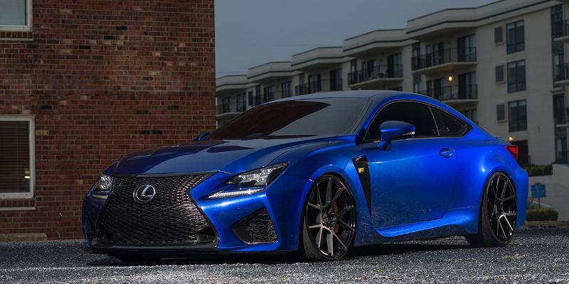 Lexus RC F 2016 Styles KPS - Cast 1 piece