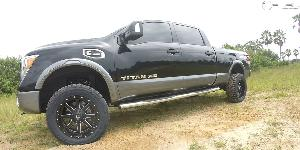 Maverick - D538 on Nissan Titan