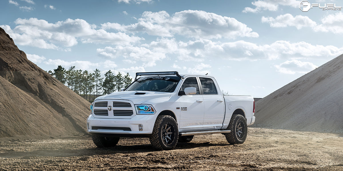 Dodge Ram 1500 Rampage D238 Gallery Mht Wheels Inc