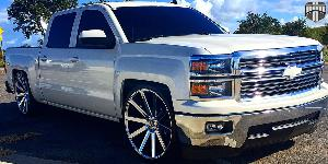 Shot Calla - S120 on Chevrolet Silverado 1500