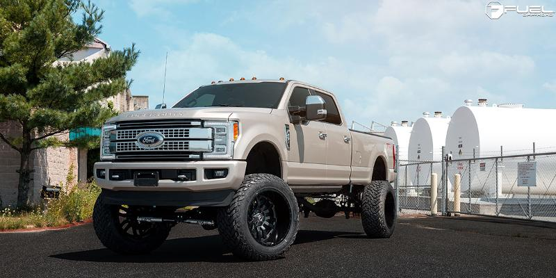 Ford F-250 Super Duty 2017 Styles Sledge - D596