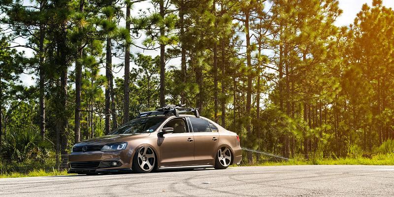 Volkswagen Jetta Rotiform TMB - Cast 1 Piece