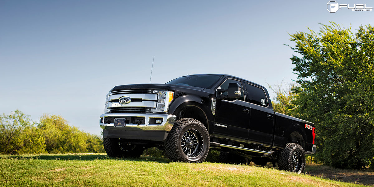 2016 Ford Super Duty >> Ford F-250 Super Duty Titan - D588 Gallery - MHT Wheels Inc.