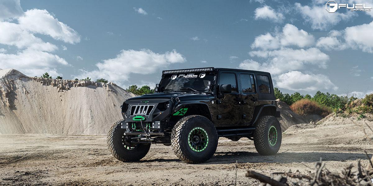 Jeep Wrangler Vector D579 Gallery Mht Wheels Inc