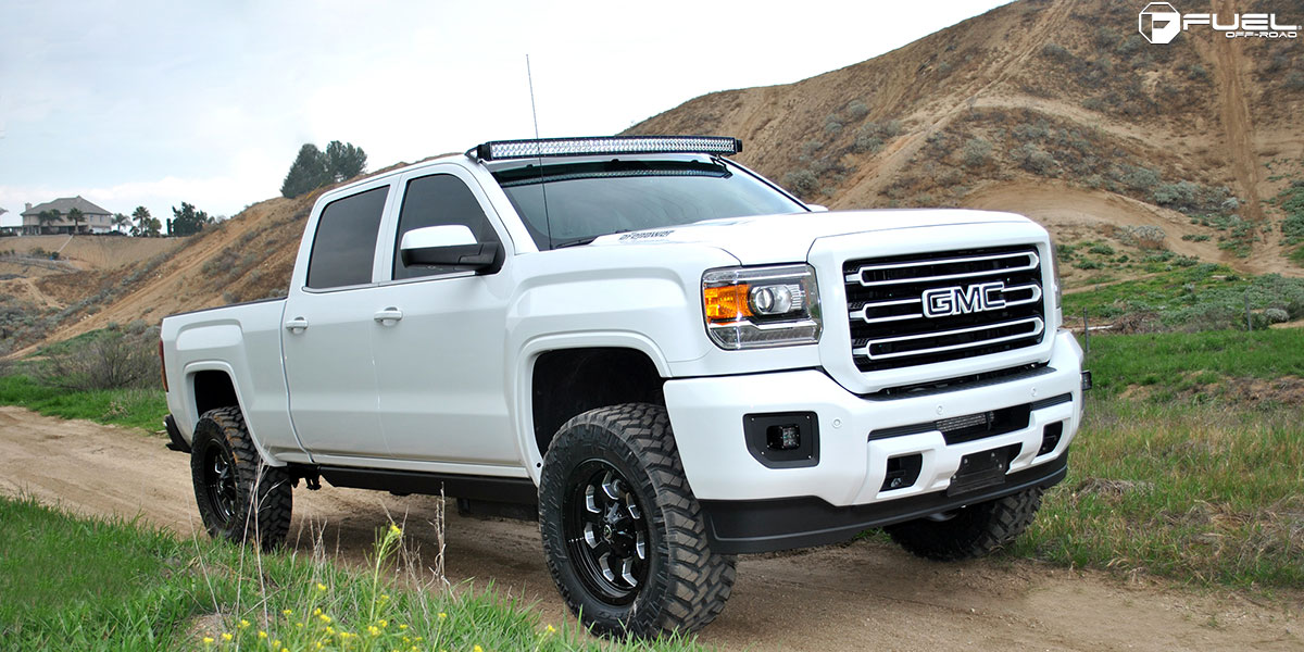 Gmc Sierra 2500 Hd Savage D563 Gallery Mht Wheels Inc