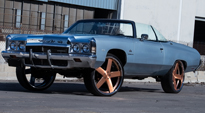 Baller - X84 on Chevrolet Impala