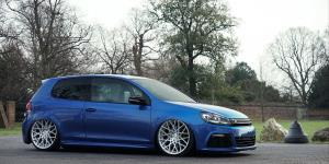 BLQ - Cast 1 Piece on Volkswagen Golf R MK6