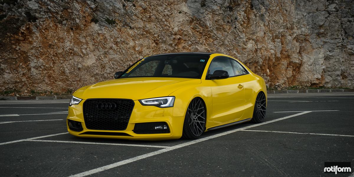 Audi A5 BLQ - Cast 1 Piece Gallery - MHT Wheels Inc.