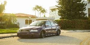 LAS-R Cast 1 Piece on Audi RS4