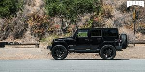 Push - S110 on Jeep Rubicon