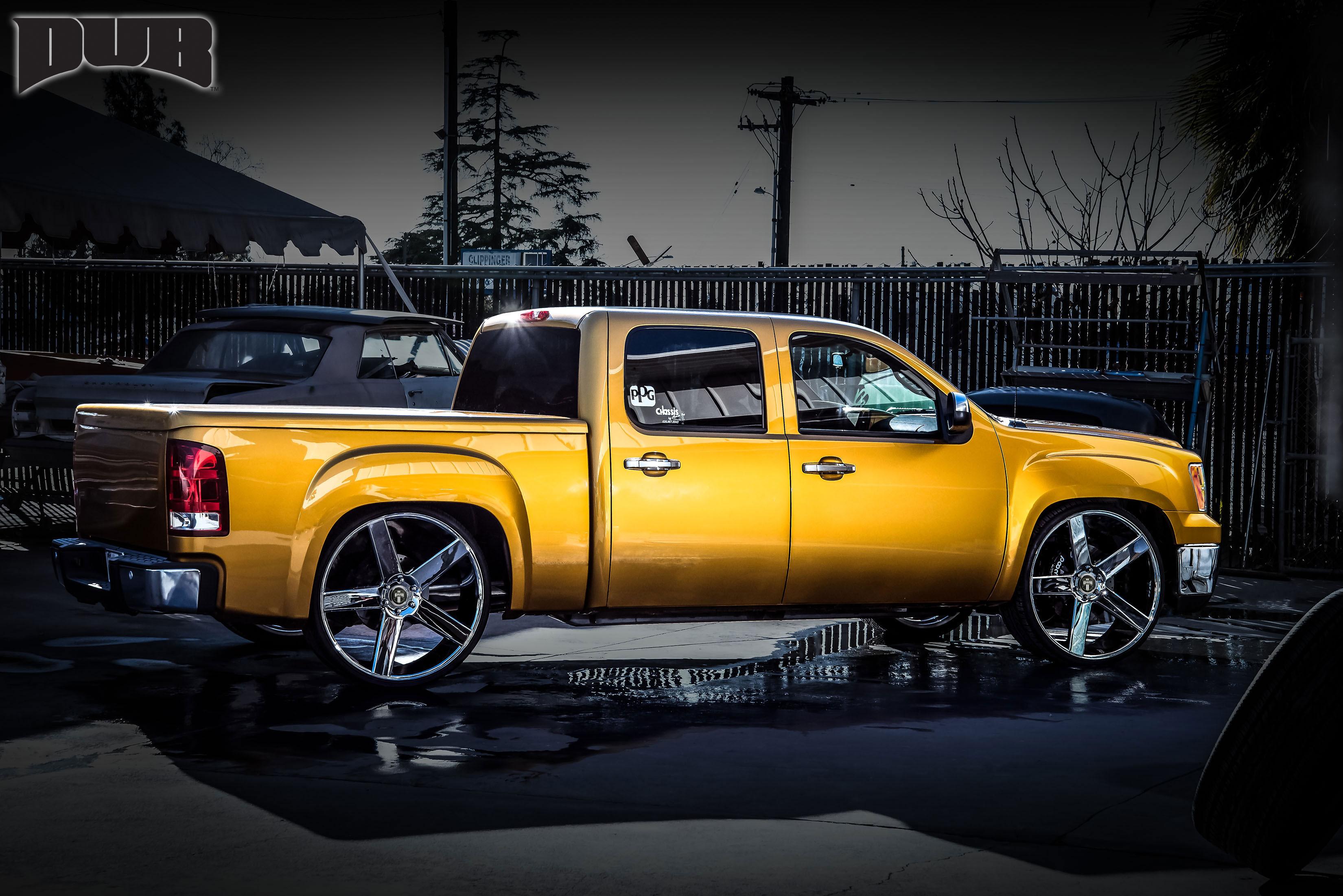 Chevrolet Silverado 2500 Baller - S115 Gallery - MHT Wheels Inc.