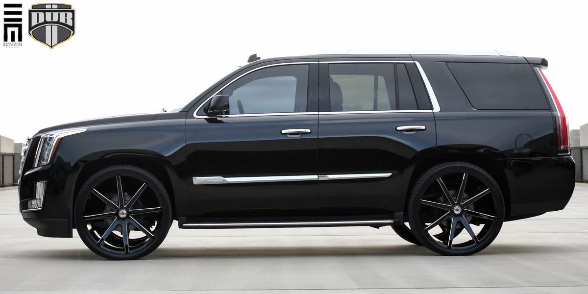 Cadillac Escalade Black Rims >> Cadillac Escalade Push - S109 Gallery - MHT Wheels Inc.