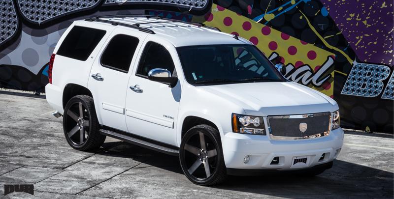 Chevrolet Tahoe Baller - S116 Gallery - MHT Wheels Inc.