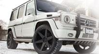 6SIX on Mercedes-Benz G550