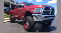 Full Blown - D243 on Dodge Ram 3500