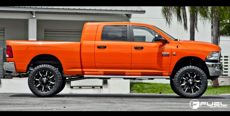 Dodge Ram 2500 Nutz D251 Gallery Mht Wheels Inc