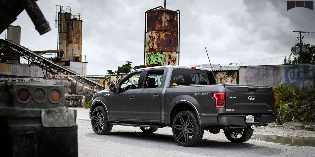Ford F-150 Attack-6 - S211 Gallery - MHT Wheels Inc.