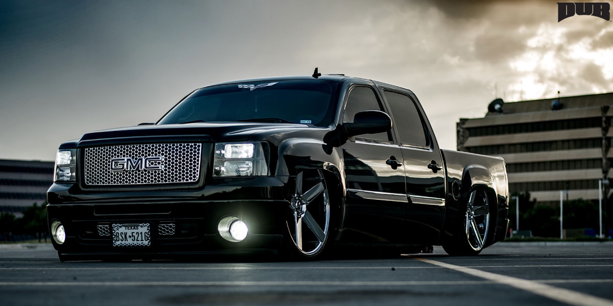 Rims For Gmc Sierra >> GMC Sierra 1500 Baller - S115 Gallery - MHT Wheels Inc.