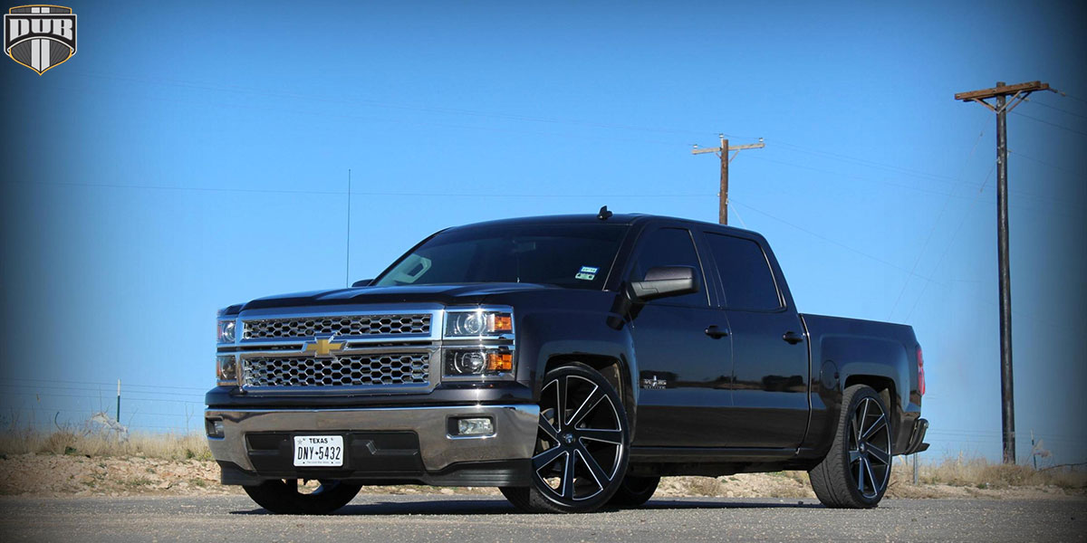 22 Inch Tires >> Chevrolet Silverado 1500 Directa - S133 Gallery - MHT Wheels Inc.