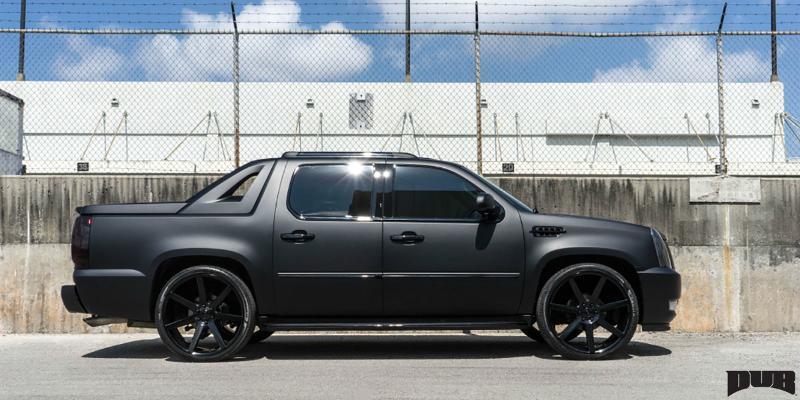 Cadillac Escalade EXT Future - S127 Gallery - MHT Wheels Inc.