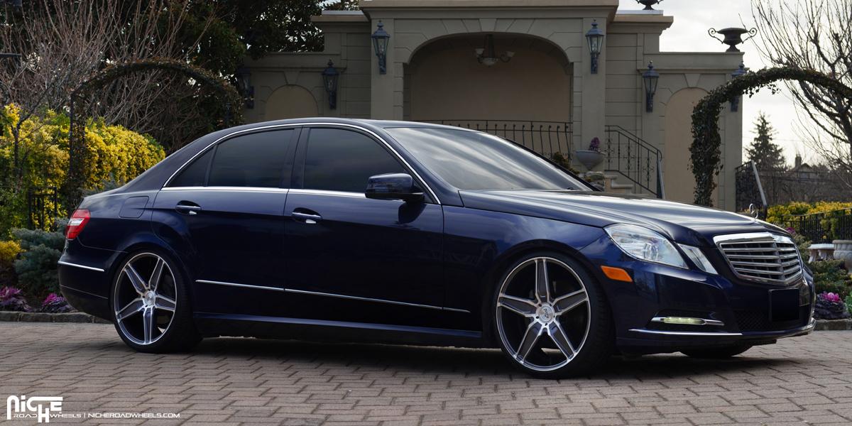 Mercedes benz e350 cannes m181 gallery mht wheels inc for Black rims for mercedes benz e350