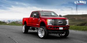 Kompressor 6 - Forged HD on Ford F-250 Super Duty