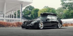 PNT on Mercedes-Benz E63 AMG