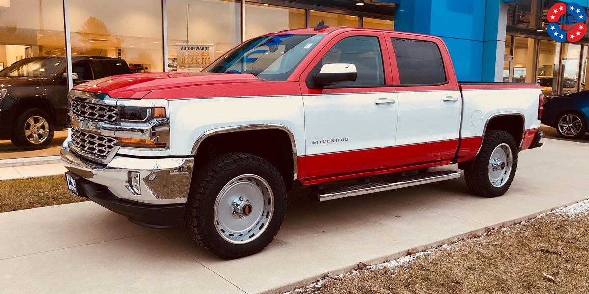 Chevy Silverado White Paint