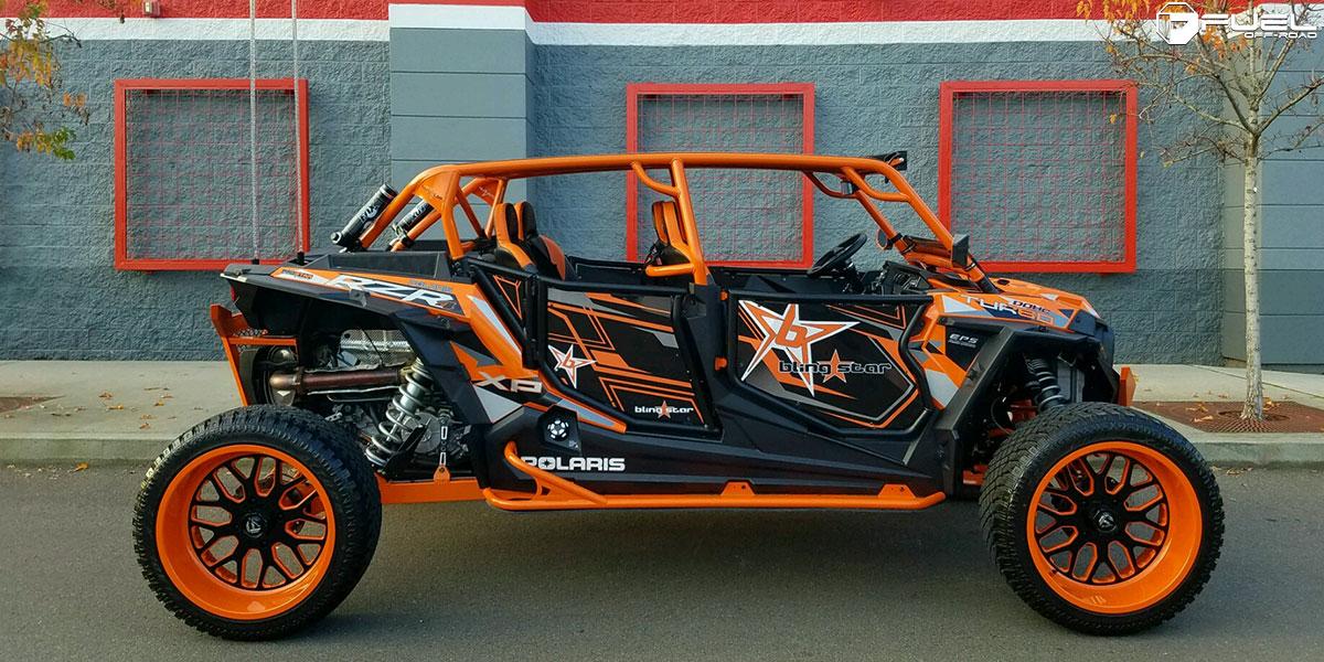 Polaris Com Atv >> ATV - Polaris RZR 1000 FF19 - UTV Gallery - MHT Wheels Inc.