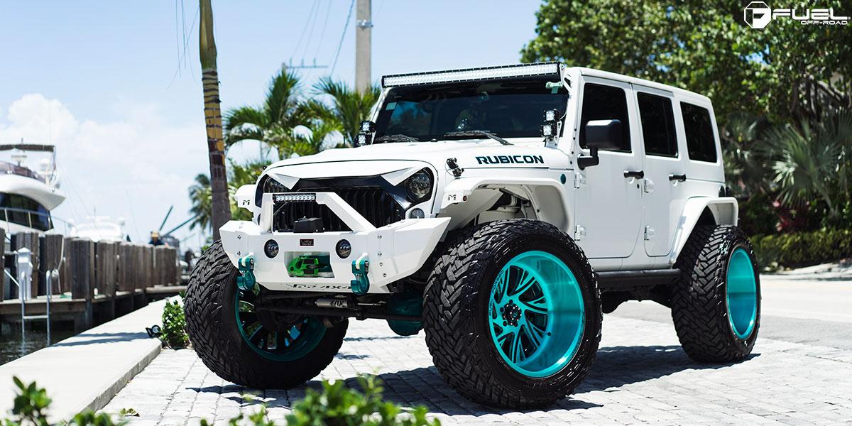 ... Jeep Wrangler Fuel FF41   5 Lug ...