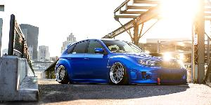 OZT on Subaru WRX STI