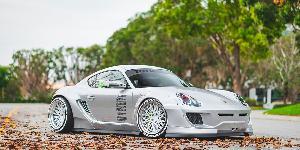 QLB on Porsche 718 Cayman